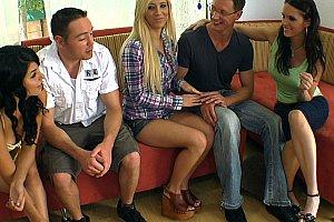 pornstars orgy at mini golf course